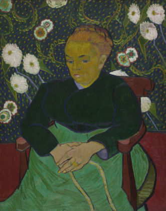 Madame Roulin, wiegend (La berceuse) Vincent van Gogh 1889, The Art Institute of Chicago, Helen Birch Bartlett Memorial Collection