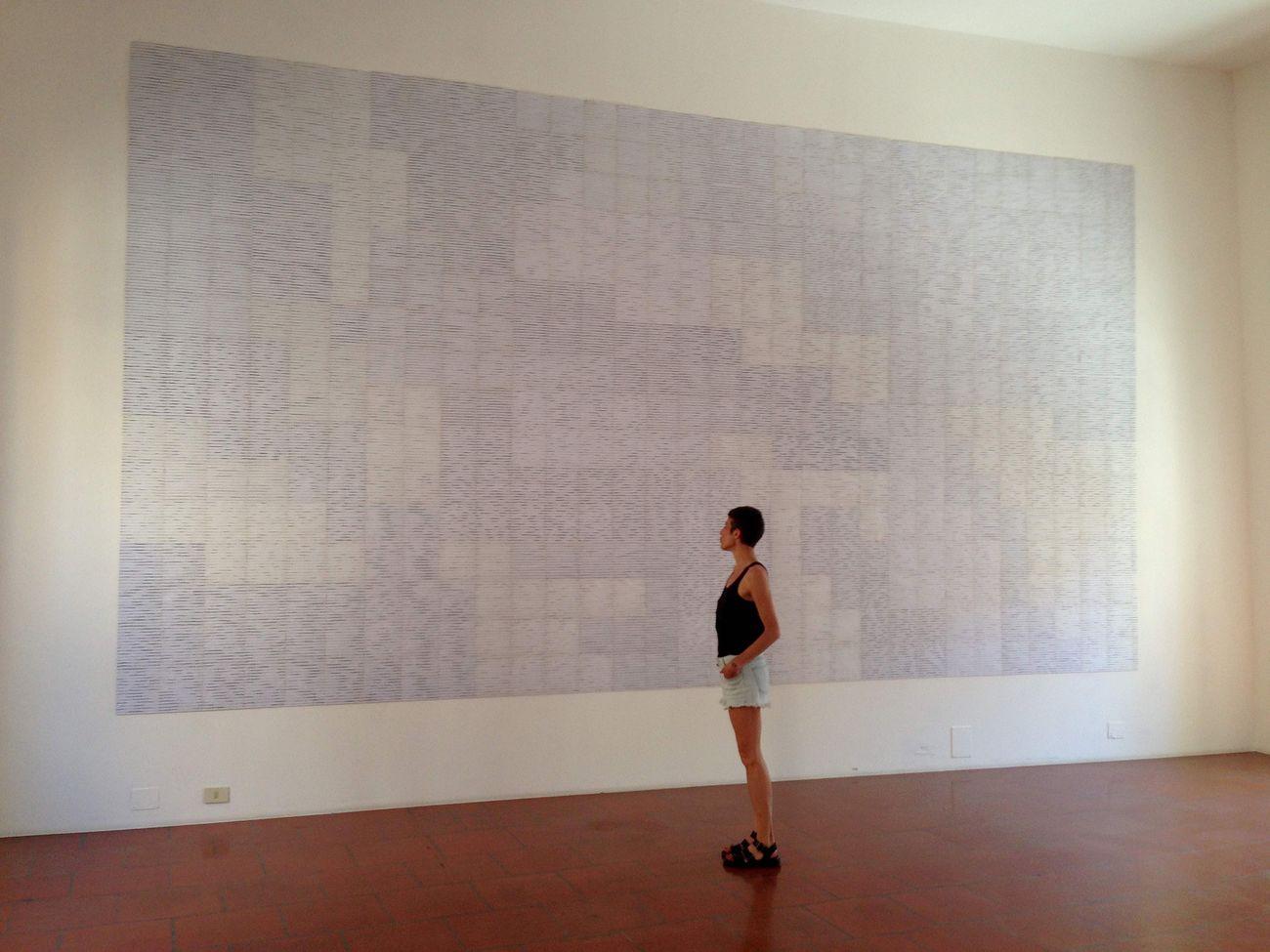 Mariateresa Sartori, Il tempo del suono. Onde, 2019, site specific. Courtesy Galleria Doppelgaenger, Bari