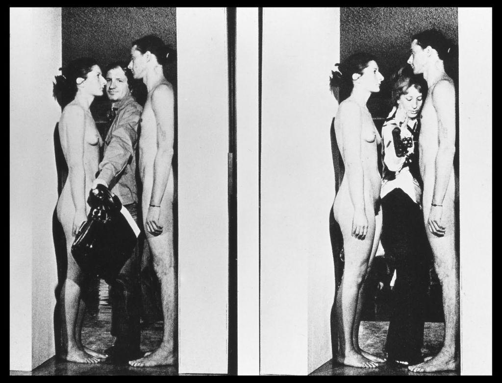 Marina Abramovic e Ulay, Imponderabilia, 1977