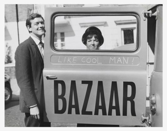 Mary Quant and Alexander Plunket Greene. Photo John Cowan, 1960. Courtesy of Terence Pepper Collection. Image © John Cowan Archive