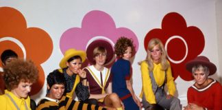 Mary Quant and models at the Quant Afoot footwear collection launch, 1967. Image © PA Prints 2008