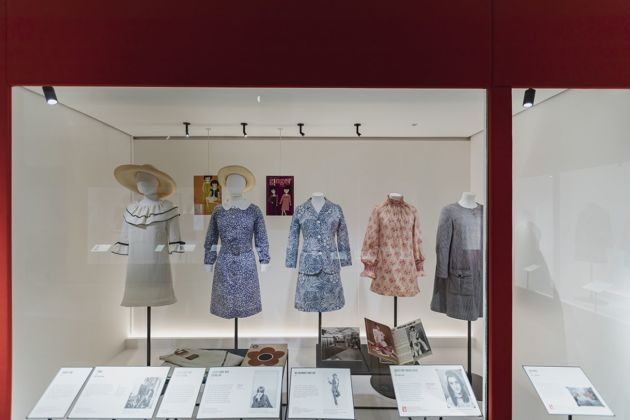 Mary Quant. Exhibition view at Victoria and Albert Museum, Londra 2019