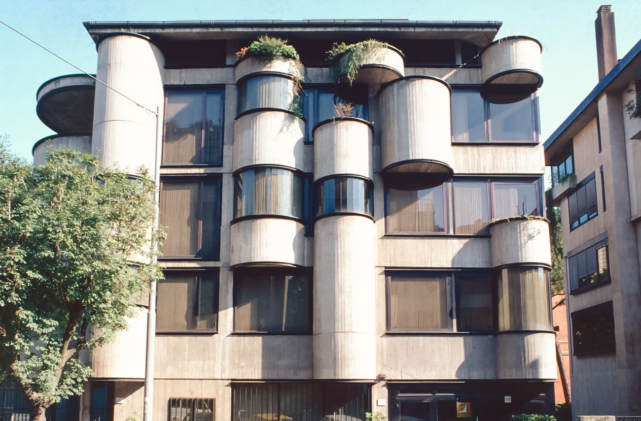Oreste Martelli Castaldi, Banca, Via degli Scipioni, Roma. Courtesy Famiglia Martelli Castaldi