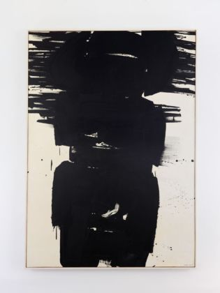 Pierre Soulages, Peinture 202 x 143 cm, 29 septembre 1967. Courtesy Lévy Gorvy, New York