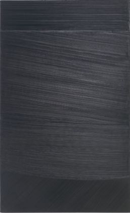 Pierre Soulages, Peinture 222 x 137 cm, Printemps 1980. Courtesy Lévy Gorvy, New York