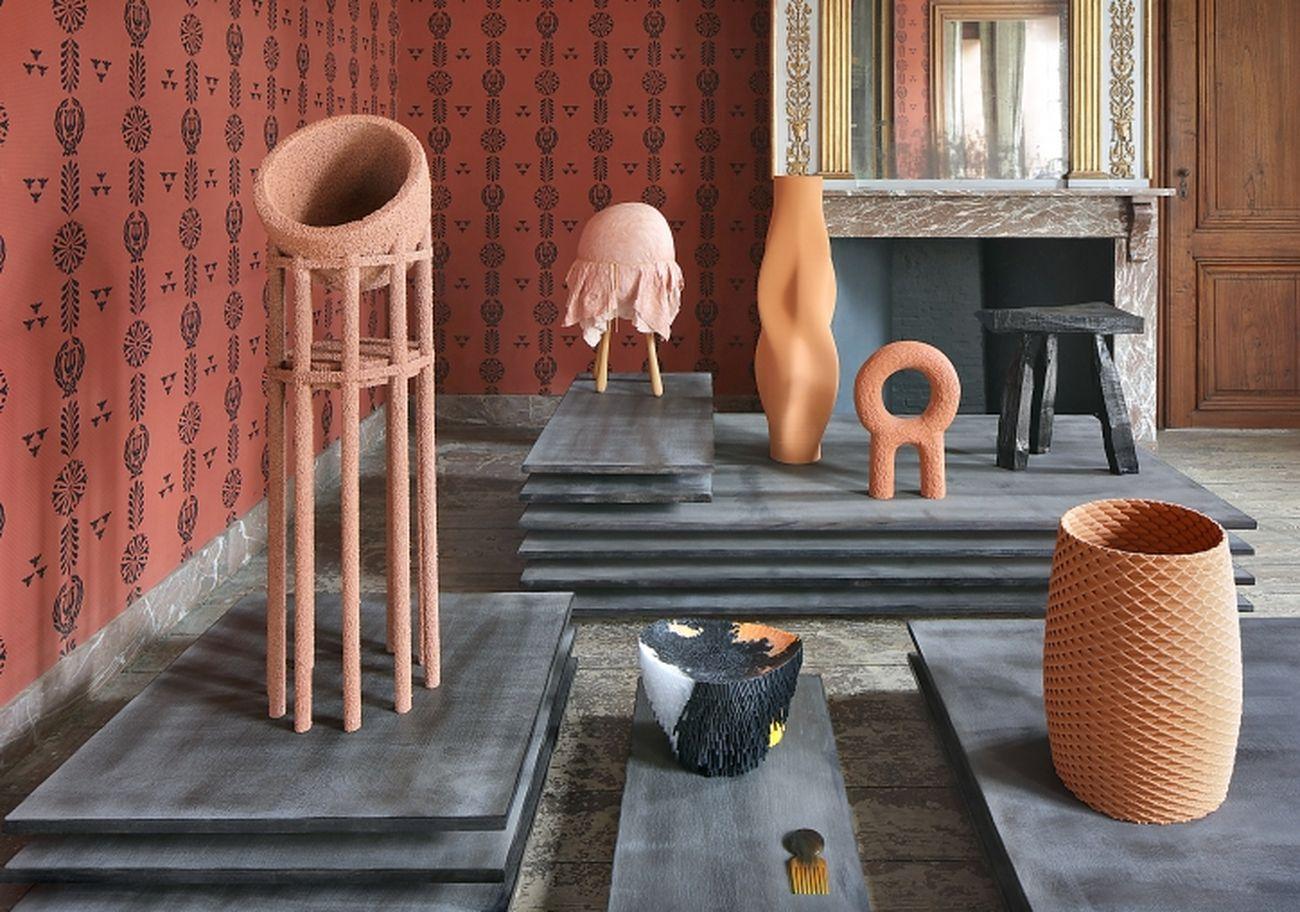 Poème Brut. Installation view at Design Museum, Gent 2018