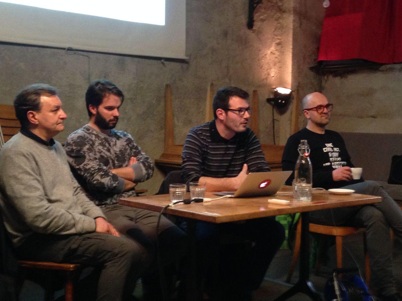 Presenting Daduclub.online at Cabaret Voltaire, Zurich