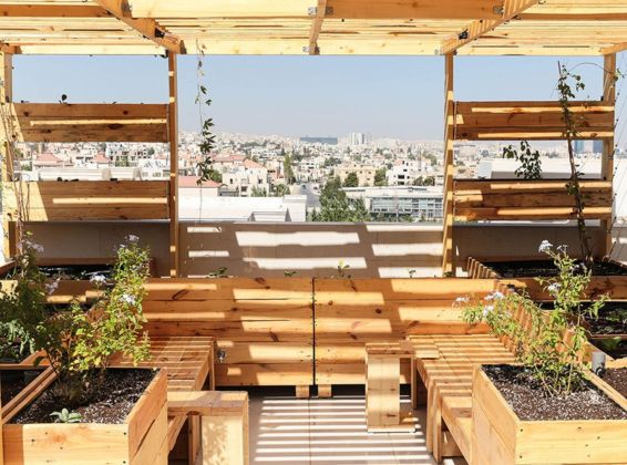 Project by Greening the Camps, Amman