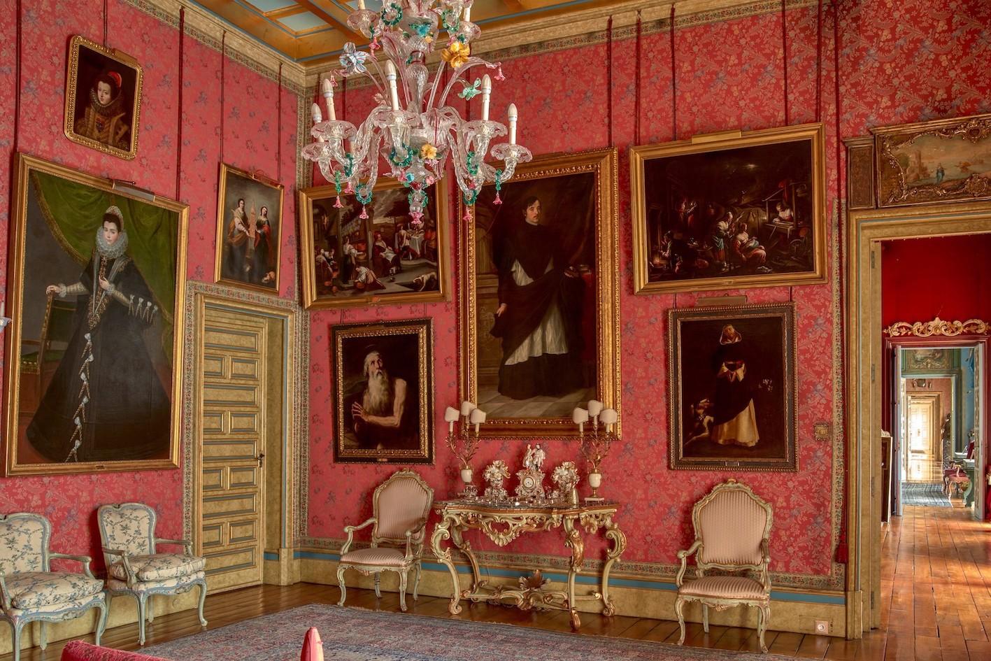 Salón Español - Palacio de Liria, collezione Duca d'Alba