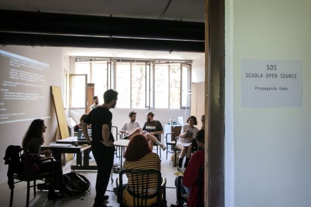 Scuola Open Source - Simposio 2019 - credits Cristina Vatielli / NONE collective