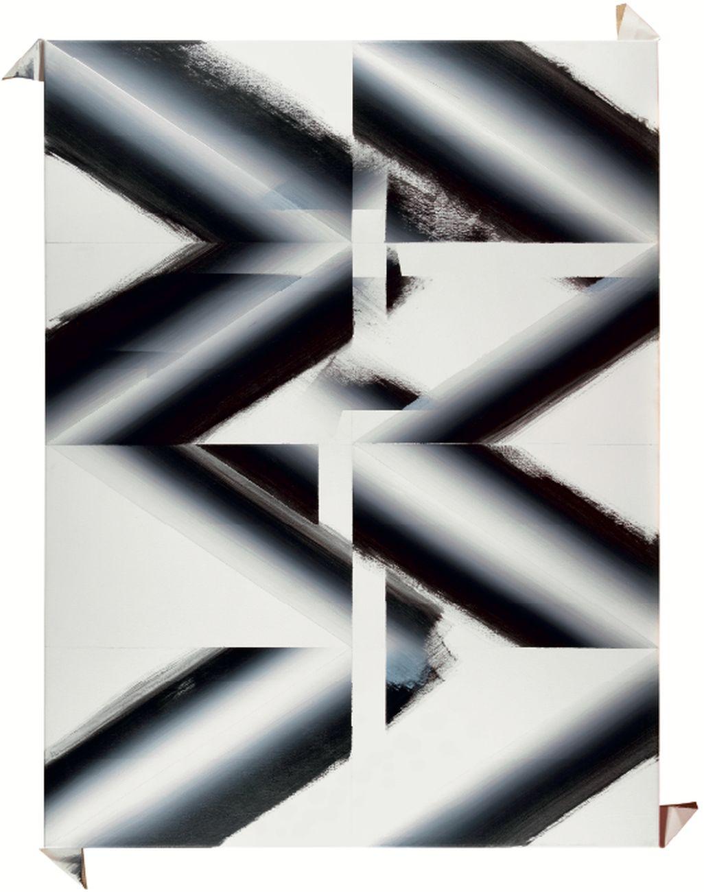 Stanislao Di Giugno, Wien sensation #8, 2015, acrylic and plaster on canvas,120x90 cm