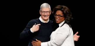 TIM COOK E OPRAH