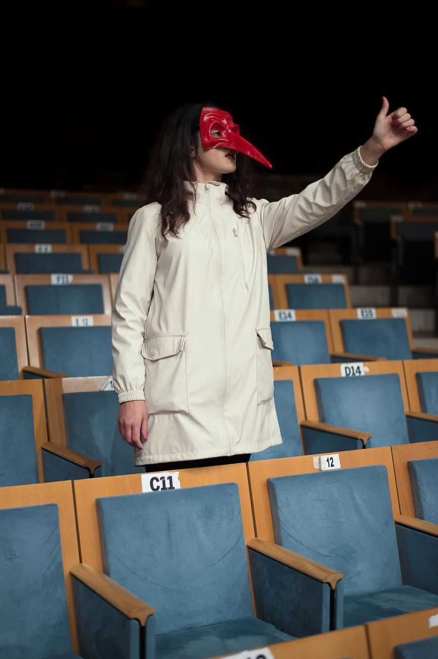 Teatro e Nuovi miti. Photo Luca Centola