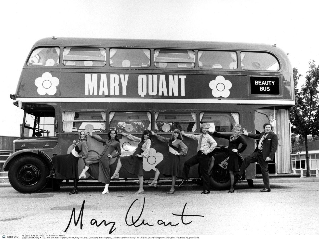 The Mary Quant Beauty bus, 1971. Image © INTERFOTO AlamyStock Photo