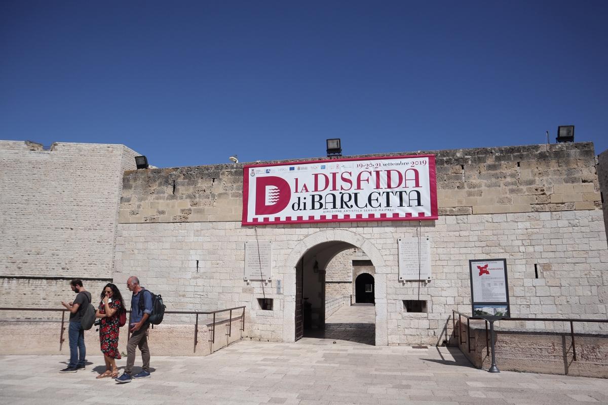 Tour Dalla Pietra al Mito - Puglia Imperiale, Castello di Barletta, ph Claudia Giraud