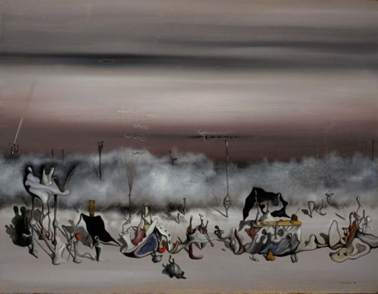 Yves Tanguy, Le Ruban des excès (The Ribbon of Excess), 1932, National Galleries of Scotland. Accepted in lieu of tax and allocated to the Scottish National Gallery of Modern Art 1998 © ARS, NY and DACS, London 2019