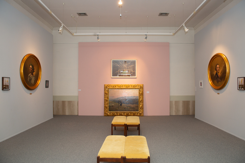 """Mostra """"La Potenza dell'Arte Contemporanea"""" - Pinacoteca - Potenza. Ph. Giovanni De Angelis"""