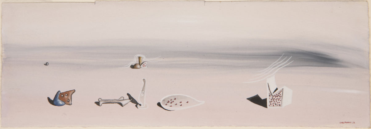 Yves Tanguy, Sans titre (Untitled), 1933, Wakefield Permanent Art Collection (The Hepworth Wakefield) © ARS, NY and DACS, London 2019