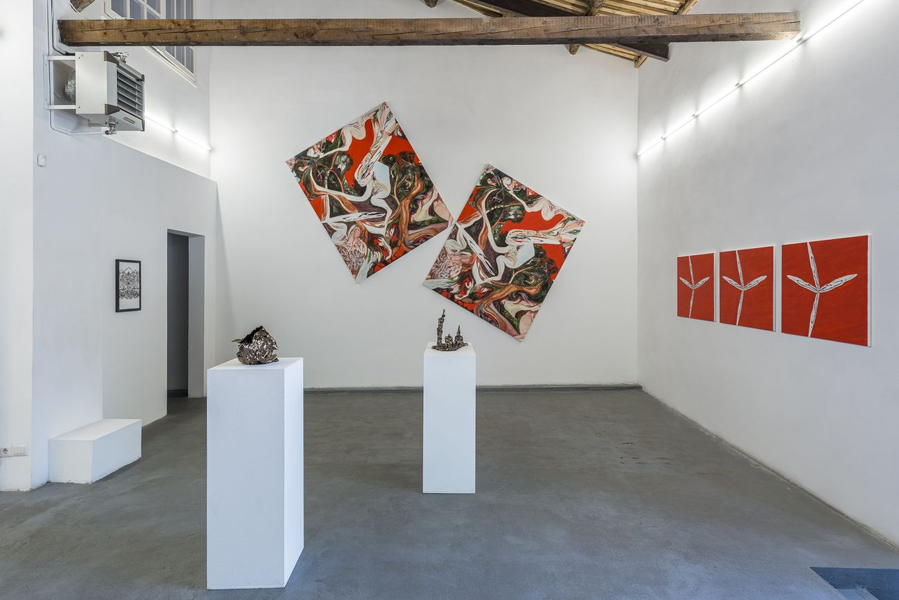 Alessandro Giannì. L'apocalisse dell'ora. Exhibition view at AlbumArte, Roma 2019. Photo Sebastiano Lucianio, courtesy AlbumArte