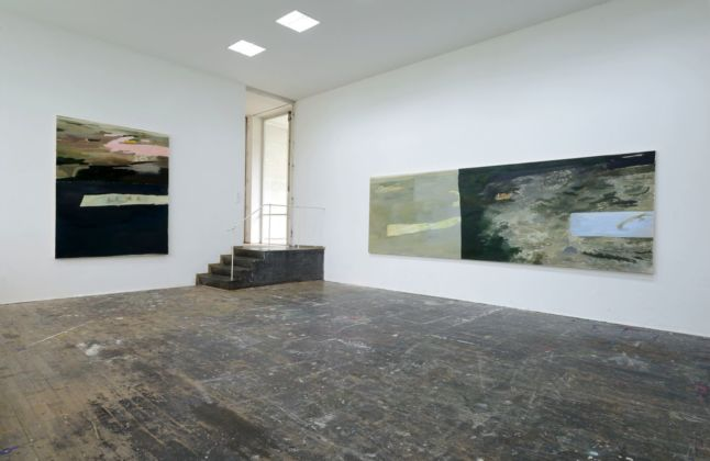Andrea Barzaghi. Fregio. Exhibition view at AdBK Nürnberg, 2015