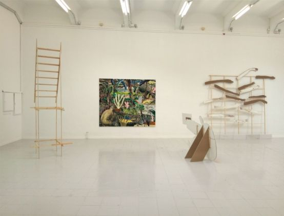 Andrea Barzaghi. Superstimulus. Exhibition view at A&O Kunsthalle, Lipsia 2019