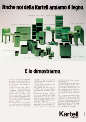 Campagna Kartell by Divisione Habitat, 1977
