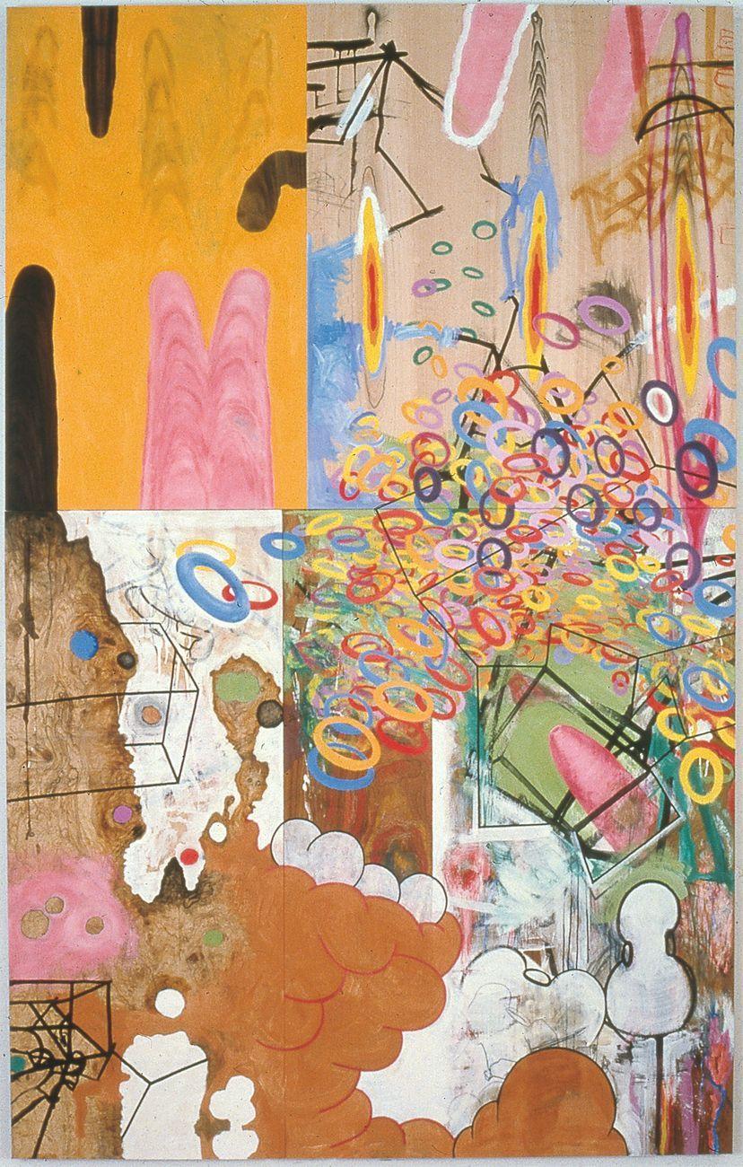 Carroll Dunham, Age of Rectangles, 1983-85