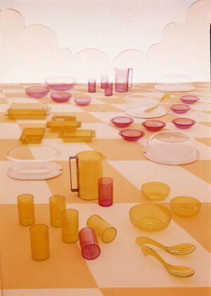 Collezione Kartell in tavola, 1976