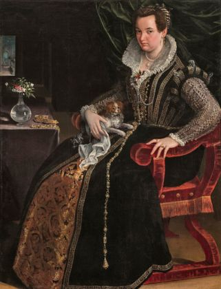 Costanza Alidosi, Lavinia Fontana, 1595 ca. Washington D.C., National Museum of Women in the Arts