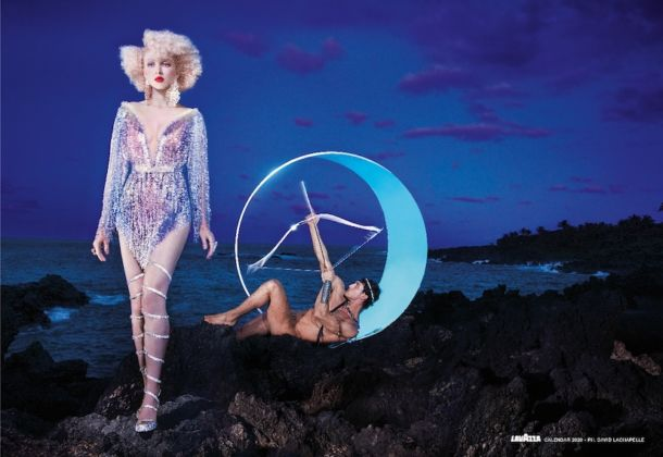 David LaChapelle, 04_DEFEND, Calendario Lavazza 2020, courtesy Lavazza