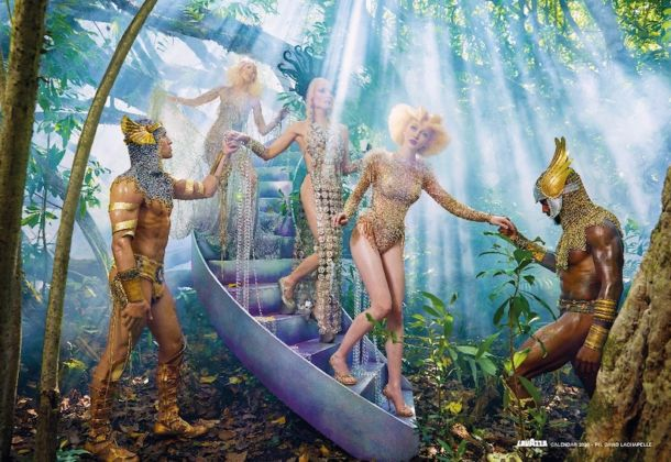 David LaChapelle, 09_RECONNECT, Calendario Lavazza 2020, courtesy Lavazza