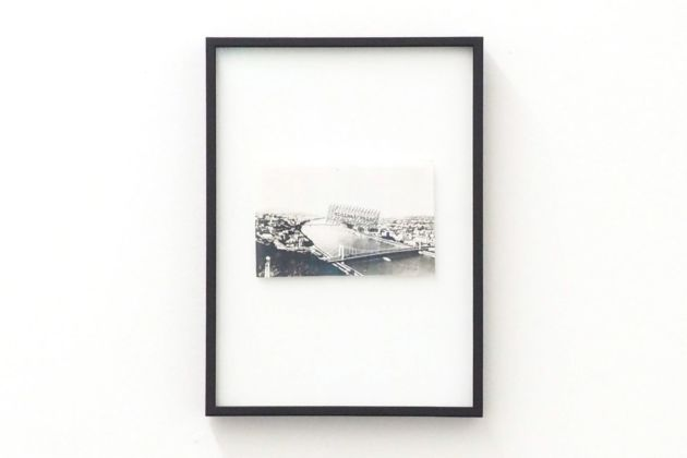 Endre Tót. Exhibition view at Loom Gallery, Milano 2019