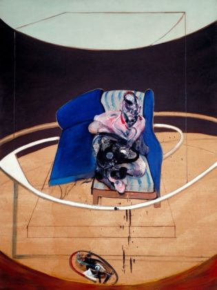 Francis Bacon, Study for Portrait on Folding Bed, 1963. Tate © The Estate of Francis Bacon. All rights reserved by SIAE 2019. Photo © Tate, 2019
