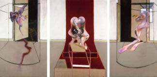 Francis Bacon, Triptych Inspired by the Oresteia of Aeschylus, 1981. Astrup Fearnley Muse et fur moderne Kunst, Oslo © The Estate of Francis Bacon / Adagp, Paris & DACS, London 2019. Photo Prudence Cuming Associates Ltd