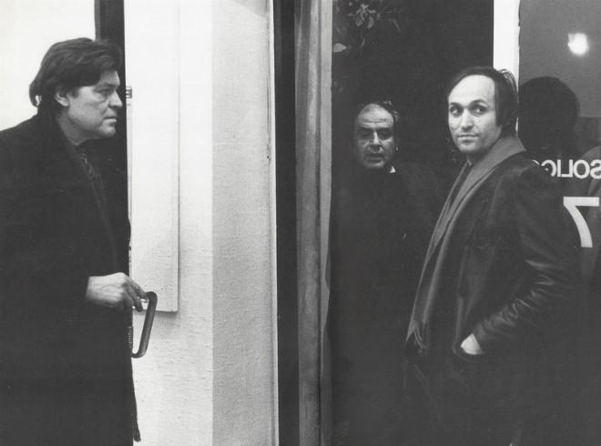 Franco Angeli, Tano Festa e Mario Schifano - foto Farsetti Arte