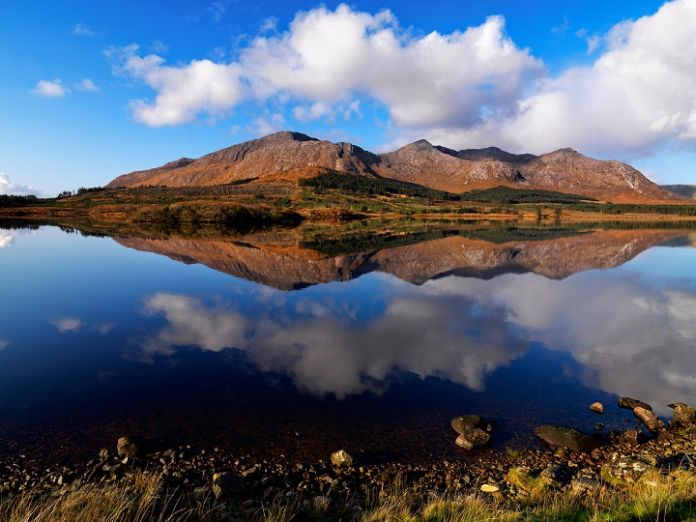 Lough Inagh, Connemara, Co. Galway.