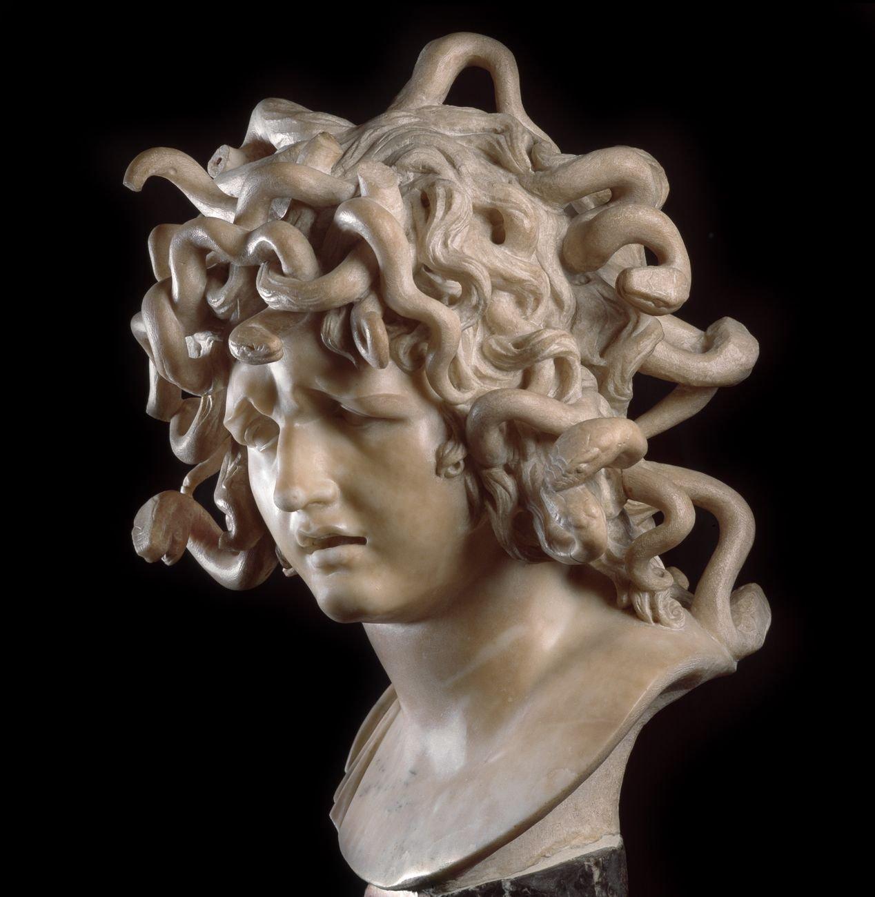 Gian Lorenzo Bernini, Medusa, Musei Capitolini, Palazzo dei Conservatori, Roma © Pinacoteca Capitolina, Roma © Photo Andrea Jemolo