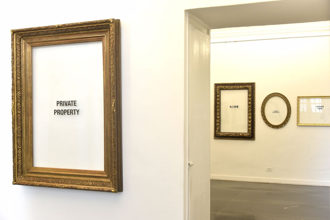 Gianni Colosimo. Ammutinamento. Exhibition view at Riccardo Costantini Contemporary, Torino 2019