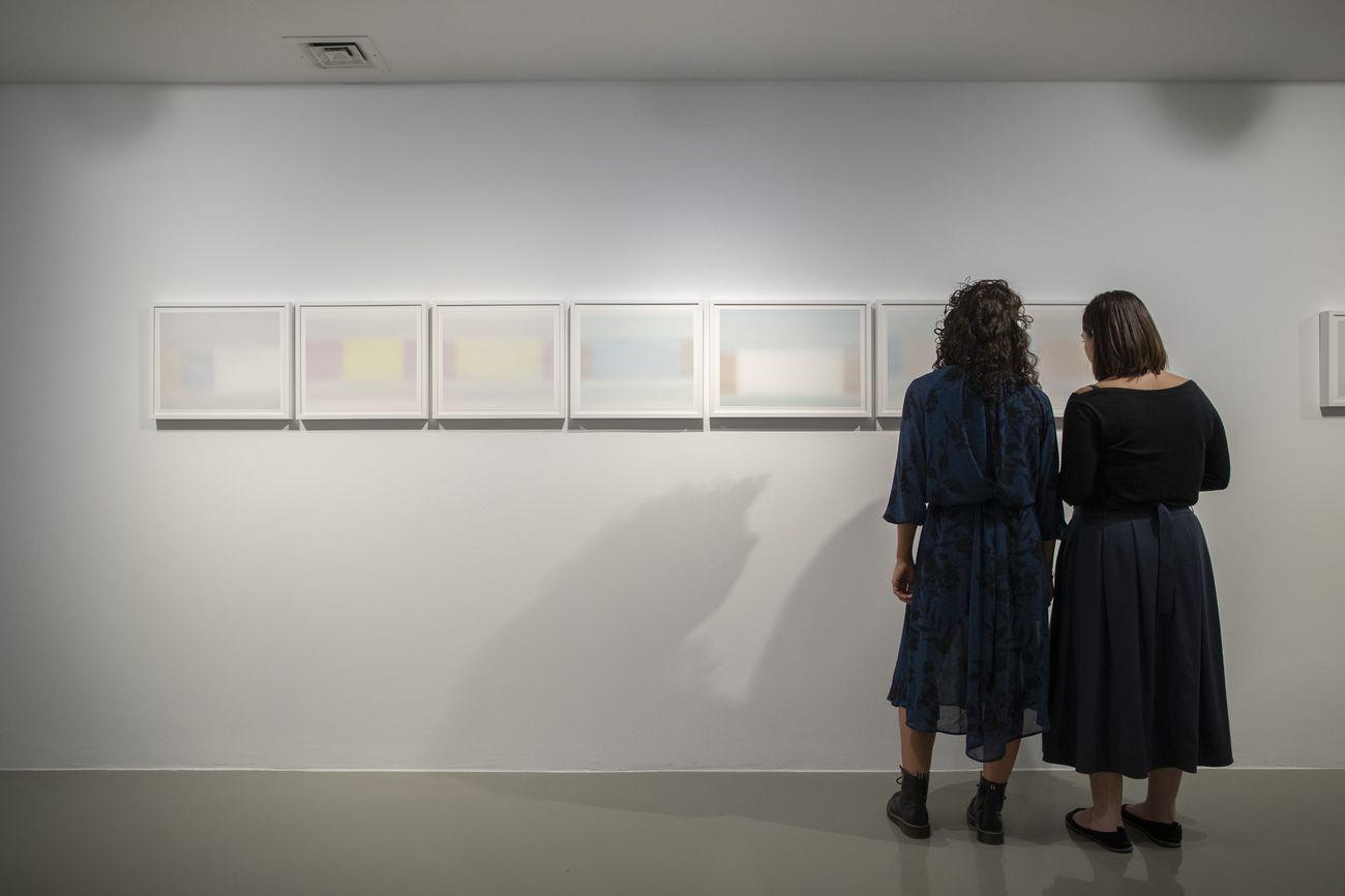Gianni Pellegrini. Sembianze agli occhi miei. Exhibition view at Galleria Civica, Trento 2019. Photo Jacopo Salvi