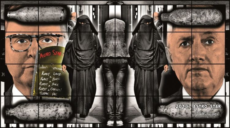 Gilbert & George, Astro Star, 2013. Courtesy Astrup Fearnley Museet, Oslo
