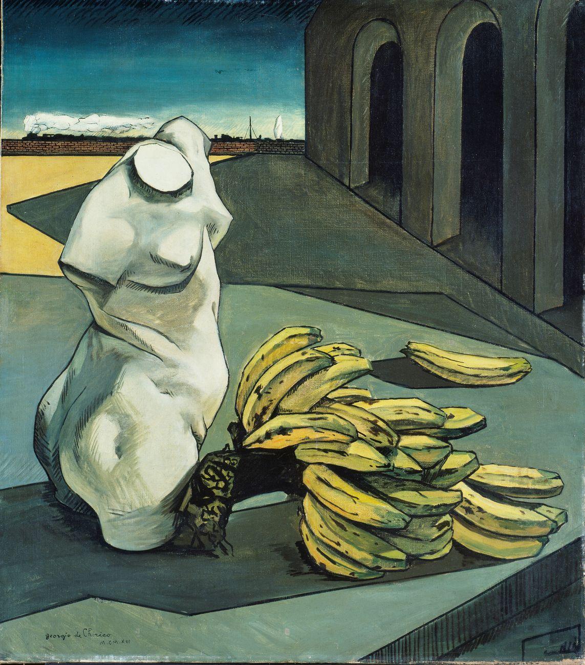 Giorgio de Chirico, L'incertezza del poeta, 1913. Londra, Tate Modern © Tate, London 2018 © Giorgio de Chirico by SIAE 2019