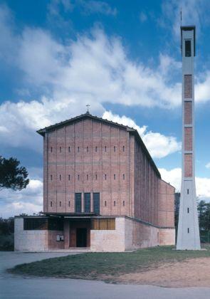 Giovanni Michelucci, Chiesa delle Sante Maria e Tecla alla Vergine, Pistoia, 1947 56. Photo ph Václav Šedý. Courtesy Archivio Fondazione Giovanni Michelucci