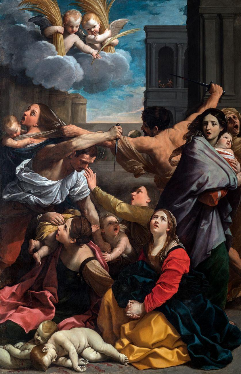 Guido Reni, Strage degli innocenti, Bologna Pinacoteca Nazionale © Polo Museale dell'Emilia Romagna