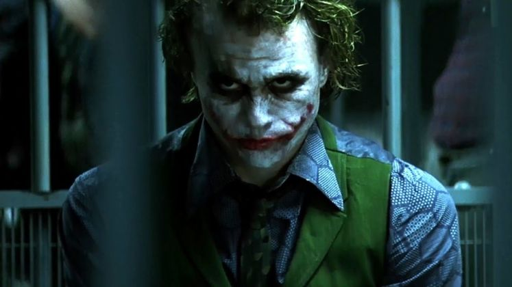Heath Ledger in The Dark Knight (Christopher Nolan, 2008)