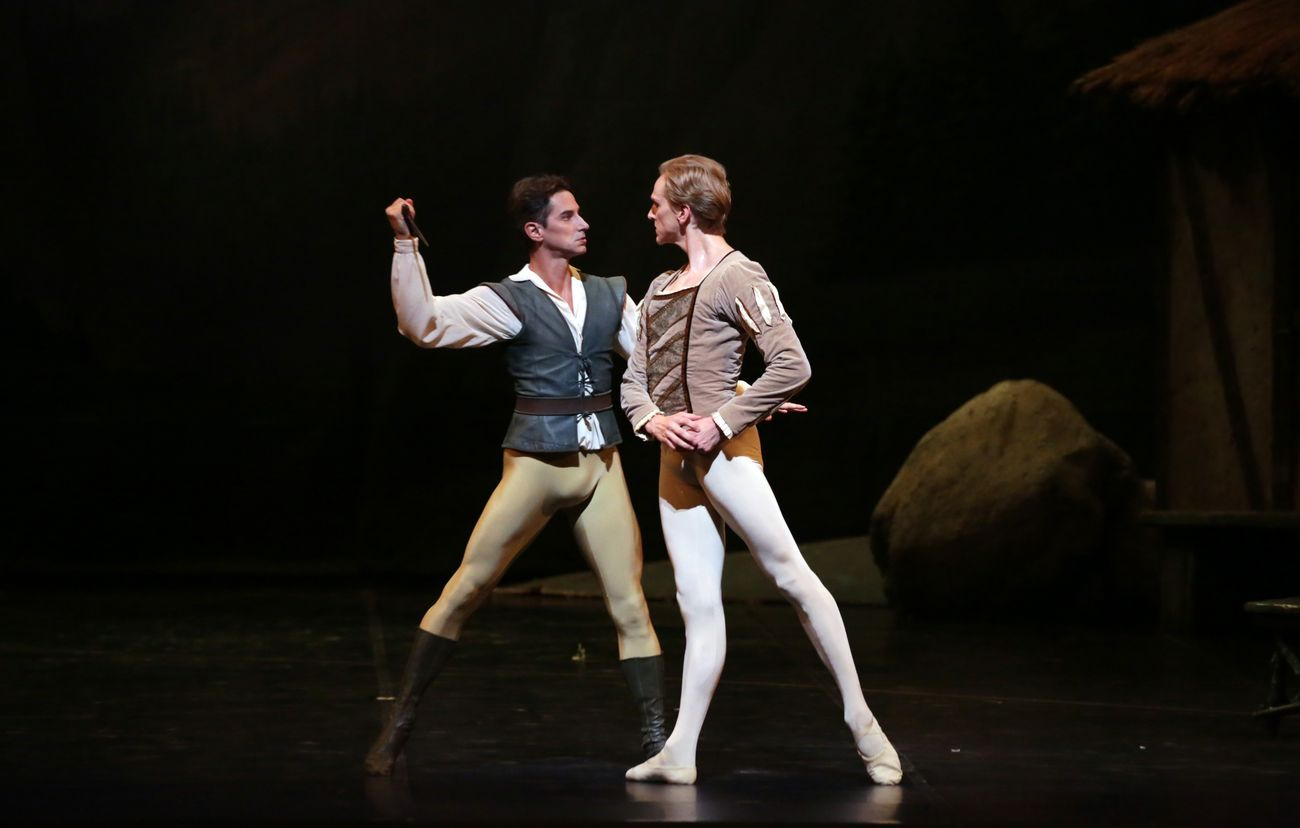 Jean Coralli & Jules Perrot, Giselle. Teatro alla Scala, Milano 2019. David Hallberg e Mick Zeni