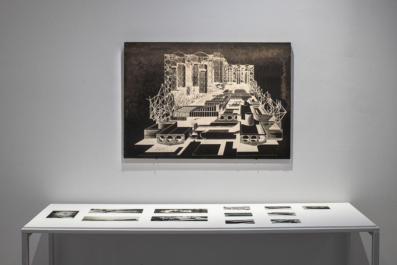 La Biennale d'Architecture d'Orléans #2. Nos années de solitude. Exhibition view at Frac Centre-Val de Loire. Photo Martin Argyroglo © Collezione d'architettura del MAXXI, Roma