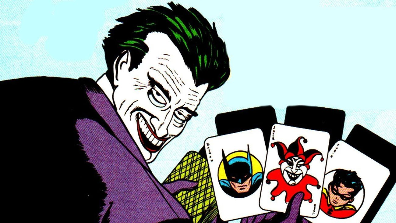 La prima apparizione di Joker (Batman #1, primavera 1940)