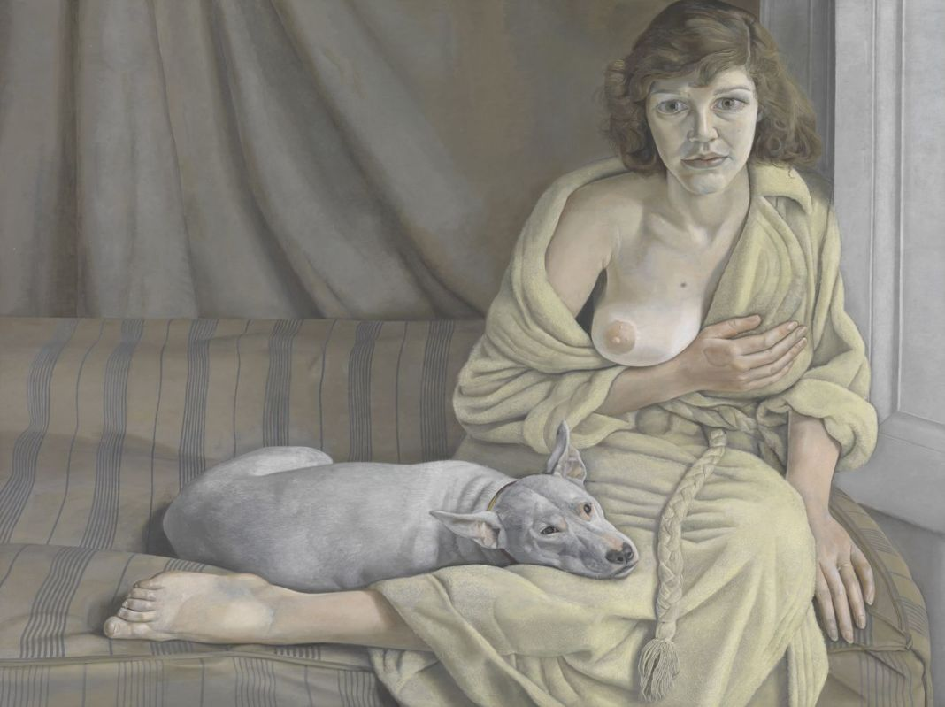 Lucian Freud, Girl with a White Dog, 1950 51. Tate © Tate