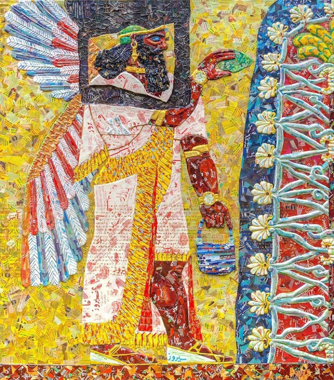 Michael Rakowitz, The invisible enemy should not exist  (Il nemico invisibile non dovrebbe esistere), 2018, particolare. Collezione Elie Kouri Art Foundation. Courtesy l'artista, Galerie Barbara Wien e Castello di Rivoli