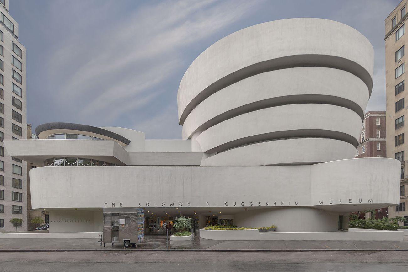 Marc Yankus, The Solomon R Guggenheim Museum, 2018 © Marc Yankus. Courtesy the artist & ClampArt, New York City